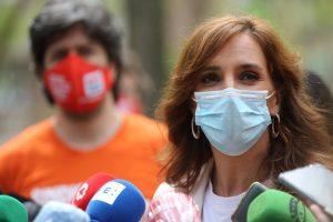 """García reprocha a Ayuso que tenga que """"ir dopada de ultraderecha"""" en la carrera electoral"""