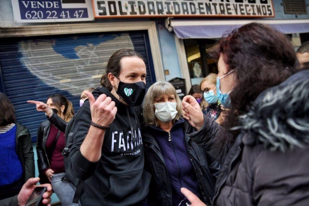 """Iglesias acusa a Vox de hacer """"apología del terrorismo de Estado y vandalismo callejero"""""""