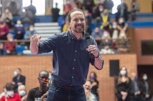 """Iglesias desconfía de las últimas encuestas y asegura que el PP """"ya tiene pacto con Vox"""""""