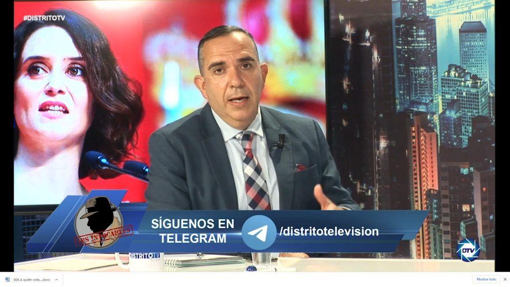 """Pedro Luis Pedrosa: """"No debemos fiarnos de esta gente, las elecciones se ganan el 4M"""""""
