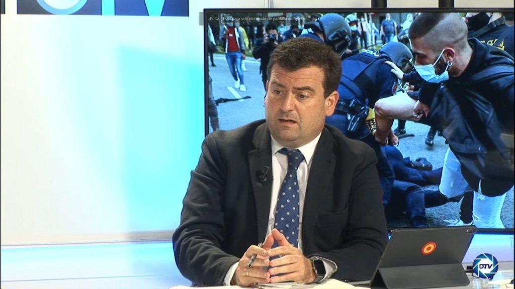 """Ricardo Chamorro: """"Los dos partidos del Gobierno crean la violencia contra sus adversarios"""""""