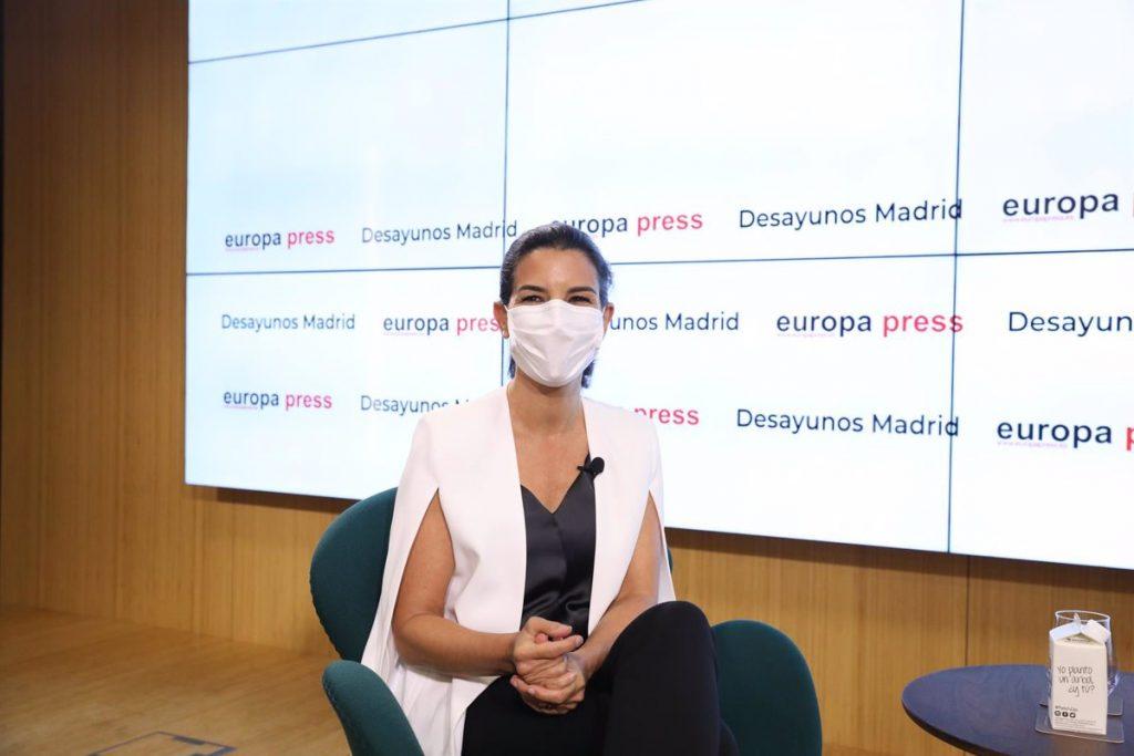 Monasterio apoyará una ampliación del Hospital Isabel Zendal si llega al Gobierno de la Comunidad