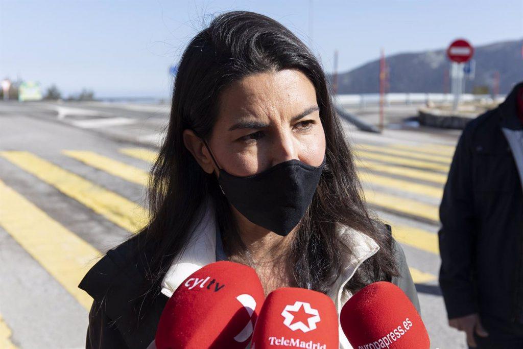 """Monasterio afirma que las políticas de Ayuso se deben al """"efecto Vox"""" frente """"a otros que querían cerrar Madrid"""""""