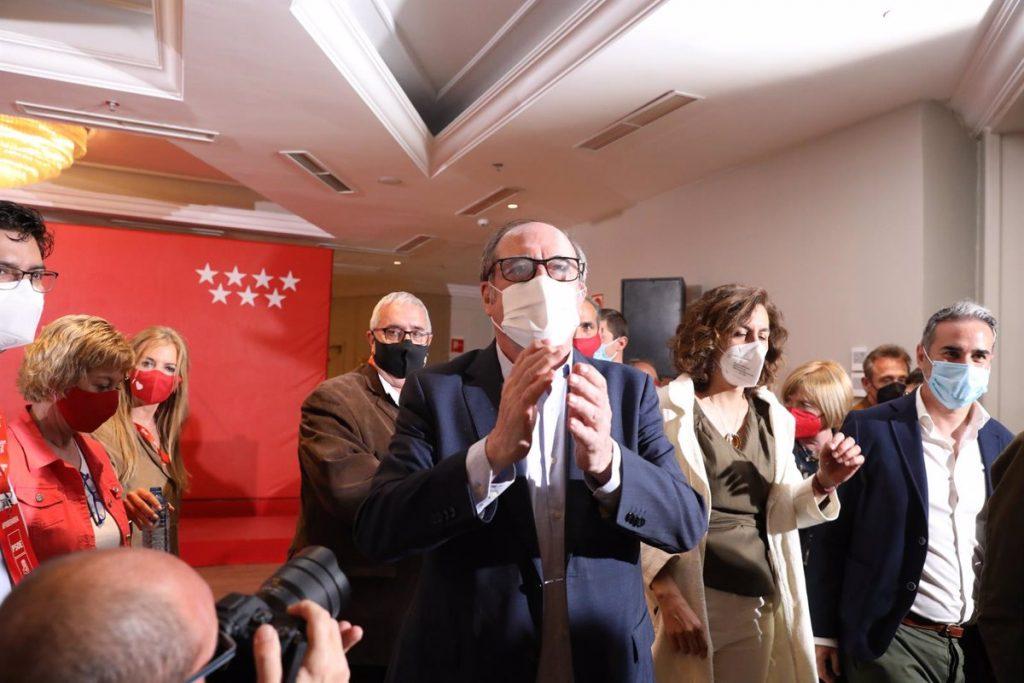 La Ejecutiva regional del PSOE-M se reúne para valorar los resultados electorales