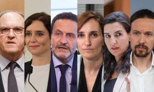 Ayuso, Bal, Monasterio y Gabilondo votan en la capital, Iglesias en Galapagar y García por correo