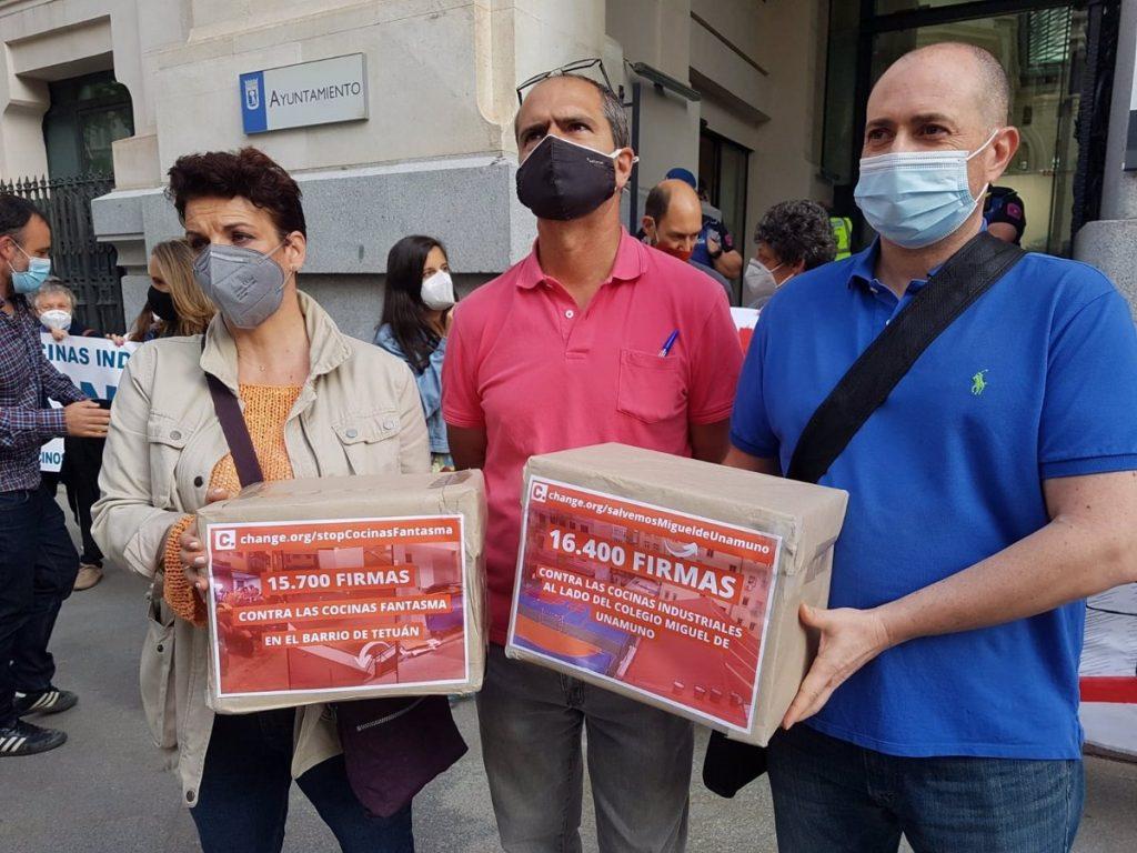 Más de 16.500 personas apoyan la petición 'stop' a las cocinas fantasmas en zonas residenciales