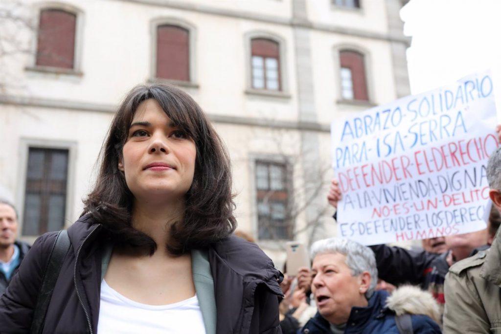 El Supremo estudia el recurso de Serra contra los 19 meses de cárcel por altercados en desahucio