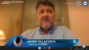 """Javier Villacorta: """"El fascismo es precisamente socialismo, el PSOE ha acabado con sus propias posibilidades"""""""