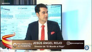 """Jesús Á. Rojo: """"Lo peor no es que Iglesias justifique la violencia, es que Marlaska y Sánchez colaboren"""""""