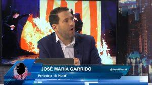 """José M. Garrido: """"No se puede acabar en la cárcel por criticar, la libertad de expresión está por encima de todo"""""""