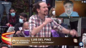 """Luis del Pino: """"Quienes hacen la violencia culpan a las víctimas, no hacen nada nuevo"""""""