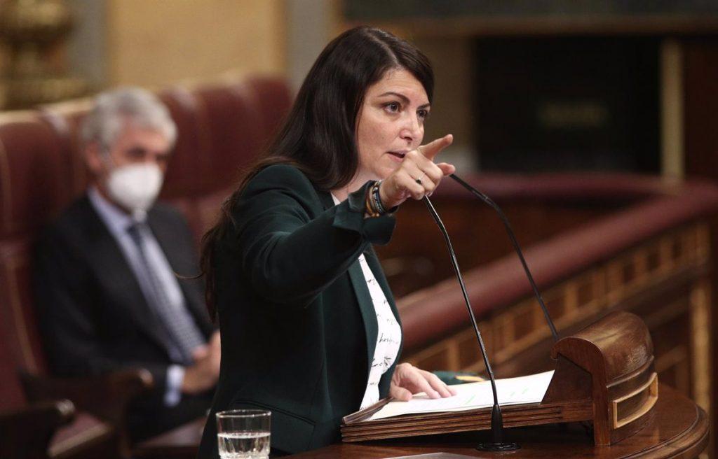"""Olona acusa a Marlaska de ser la """"pieza clave"""" del """"plan de violencia política"""" del Gobierno contra Vox"""