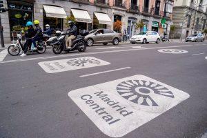 El Ayuntamiento paraliza de forma provisional la tramitación de multas de Madrid Central