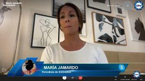 """María Jamardo: """"Los delitos de daños informáticos son los que pueden causarle más daño a Pablo Iglesias"""""""