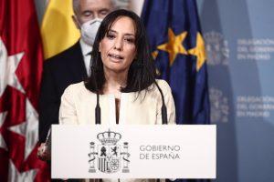 """Mercedes González insta a Ayuso a ser """"valiente"""" y aplicar el toque de queda"""