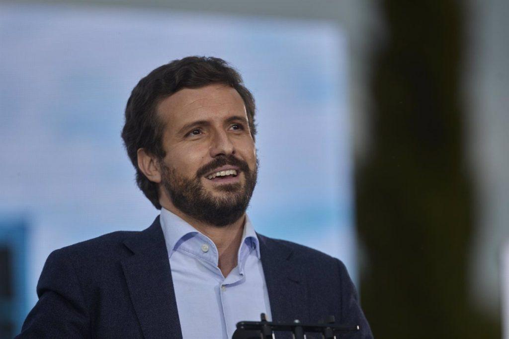 """Casado cree que los resultados de este 4M marcarán """"un punto de inflexión para el futuro de España"""""""