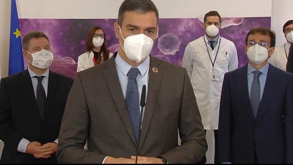 """Sánchez miente otra vez: """"Estamos a solo 100 días de lograr la inmunidad de grupo"""""""