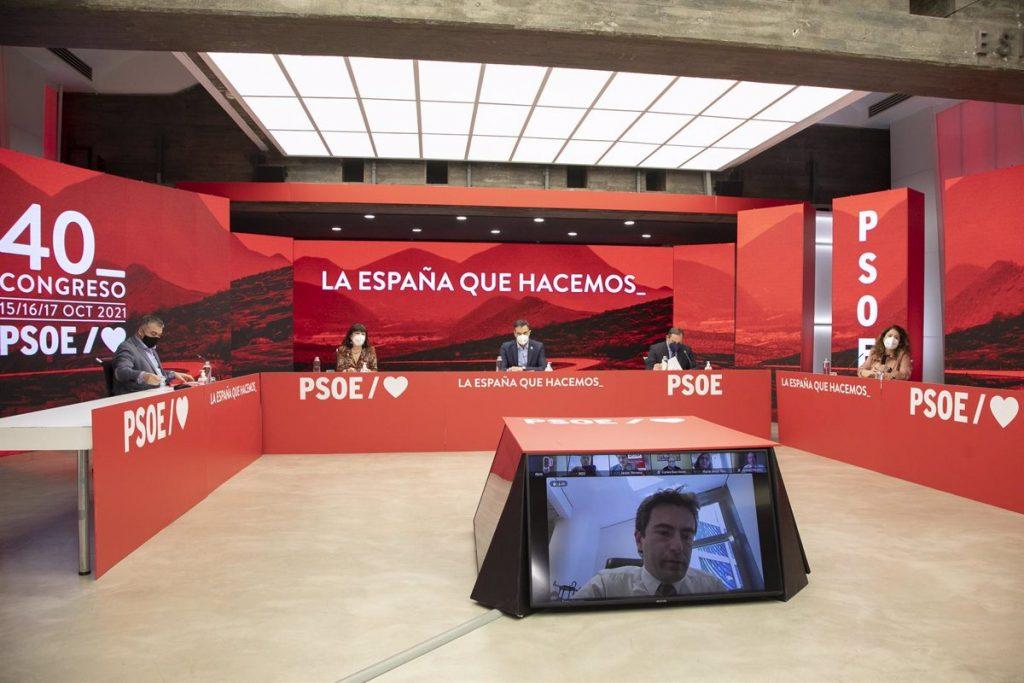 La gestora del PSOE-M y el Grupo Parlamentario Socialista se reunirán este lunes para trabajar en un calendario