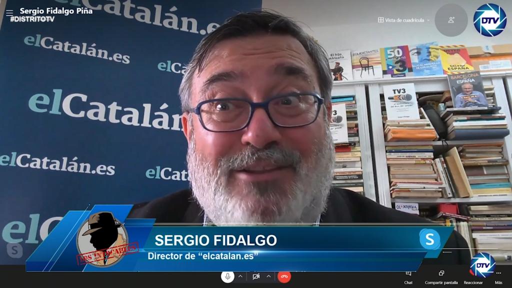 """Sergio Fidalgo: """"El único objetivo de Junts y ERC es controlar la pasta y quién se queda con qué"""""""