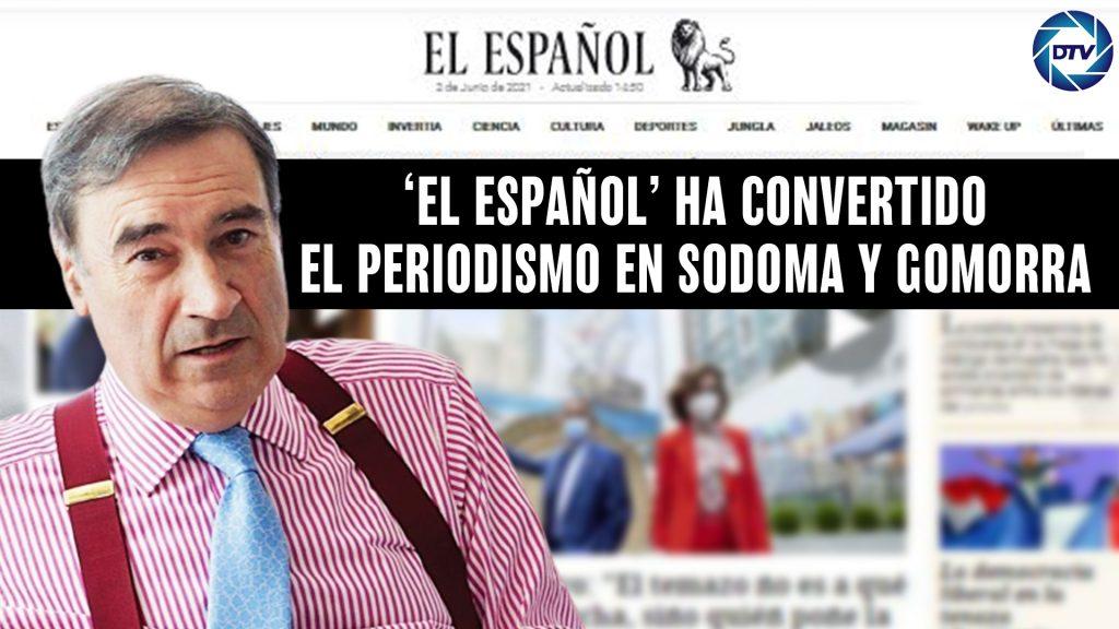 DISTRITO TV denuncia que EL ESPAÑOL sodomiza la prensa