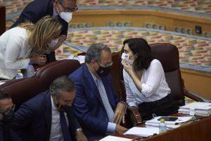 Ayuso recupera a Dancausa, Izquierdo y Rivera para su Gobierno, en el que mantiene a todos sus consejeros