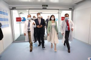 El Hospital Isabel Zendal comenzará a vacunar contra el virus 24 horas al día desde el lunes