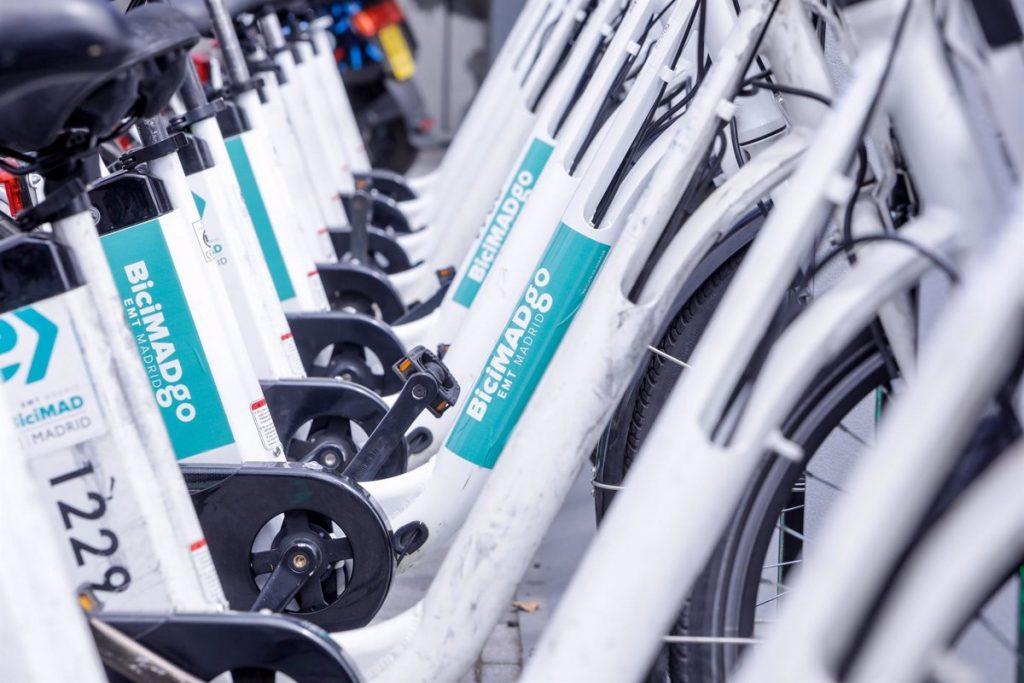 Viajar en BiciMAD este jueves será gratis durante una hora para celebrar el Día de la Bicicleta