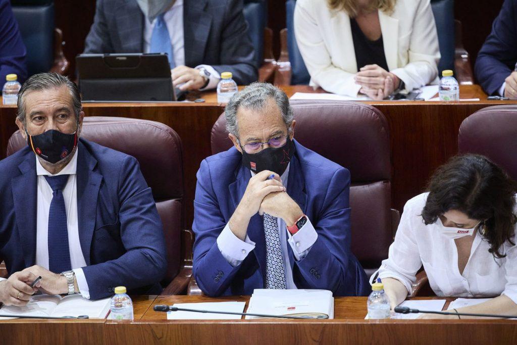 Los consejeros del nuevo Gobierno de Ayuso toman posesión de su cargo en la Real Casa de Correos