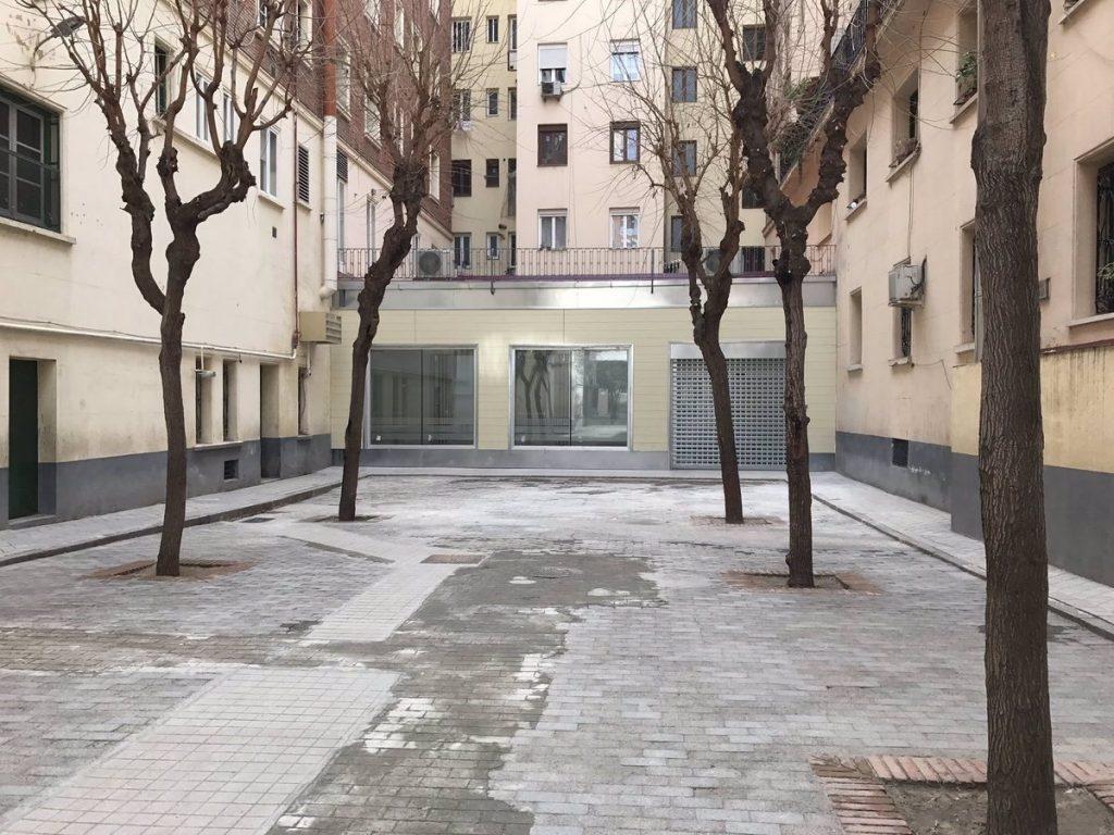 Ocho calles del barrio de Chamberí mejorarán y ampliarán su alumbrado con 211 unidades lumínicas