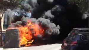 Detienen a un pirómano acusado de incendiar más de 50 contenedores en Colonia Jardín