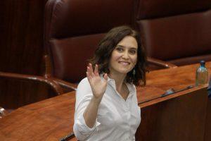 Isabel Díaz Ayuso, investida presidenta de la Comunidad de Madrid con los votos a favor de Vox