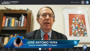"""José Antonio Vera: """"Se puede dar la circunstancia de unas elecciones generales donde gane una coalición entre PP y VOX"""""""