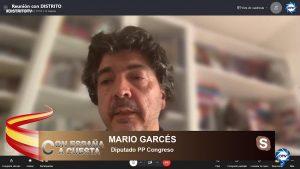 """Mario Garcés: """"Sánchez y sus amigos catalanes buscaban un enemigo, y consiguieron a Madrid con Ayuso"""""""