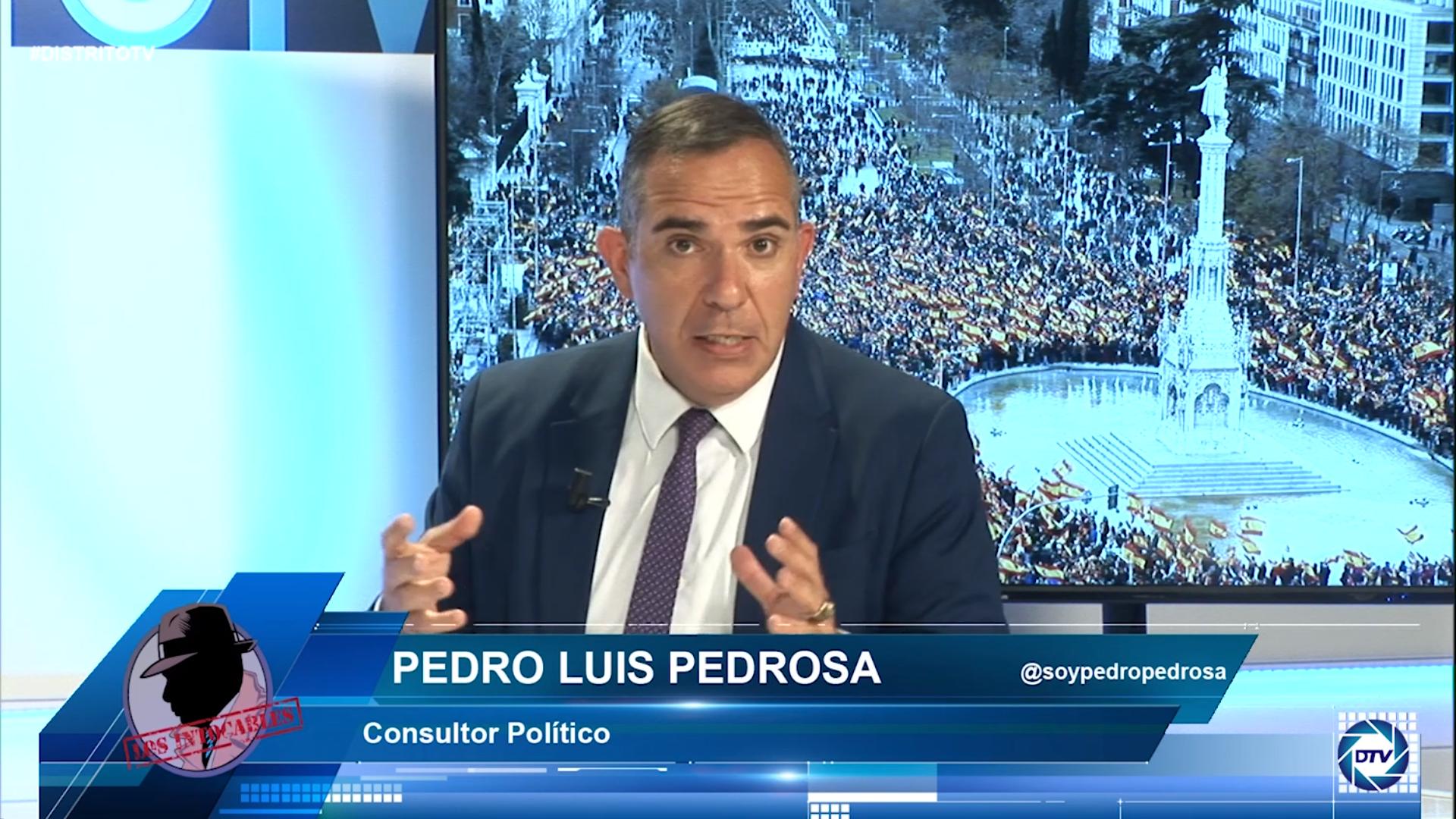"""Pedro Luis Pedrosa: """"El manejo de la foto de Colón ha sido por complejos, esto se repetirá el 13J"""""""