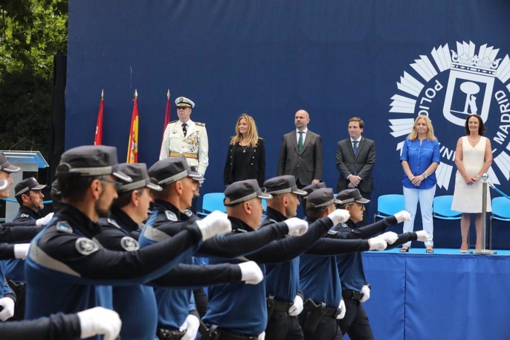 La mujer protagoniza el Día de la Policía Municipal de Madrid, que preside la Reina Letizia