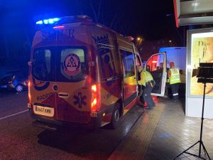 Muere un motorista de 26 años en una colisión contra un vehículo en el distrito de Carabanchel