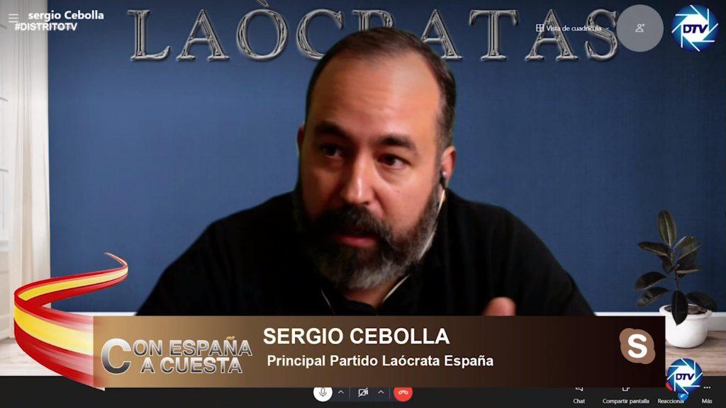 """Sergio Cebolla: """"A Sánchez le da igual la Constitución, le da igual la ley, nada le importa"""""""