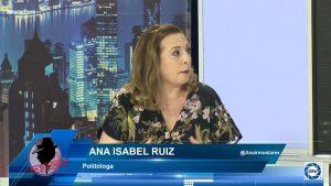"""Ana Isabel Ruíz: """"En el TC llevan tres días debatiendo, los ciudadanos quieren saber qué sucede"""""""