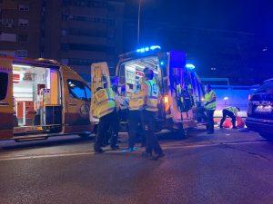 Herido de gravedad un joven de 17 años tras ser atropellado en el túnel de Conde de Casal