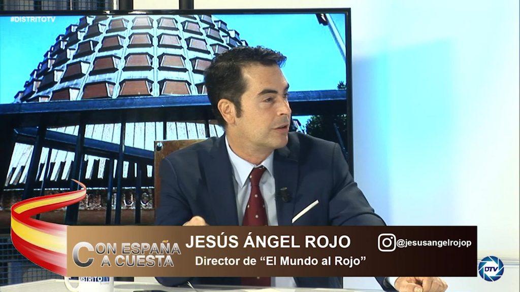 """Jesús Ángel Rojo: """"Sánchez se pone del lado de los golpistas y comunistas, que son sus socios de Gobierno"""""""