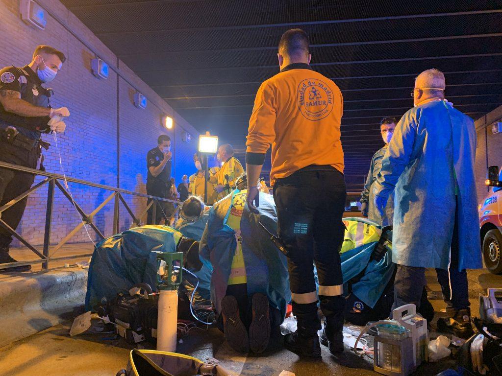 Muere un joven de 18 años tras recibir cuatro puñaladas en un túnel entre Arganzuela y Retiro