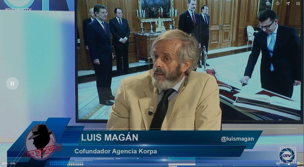 """Luis Magán: """"Pedro Sánchez denota la debilidad en su Gobierno no tocando a los ministros comunistas"""""""