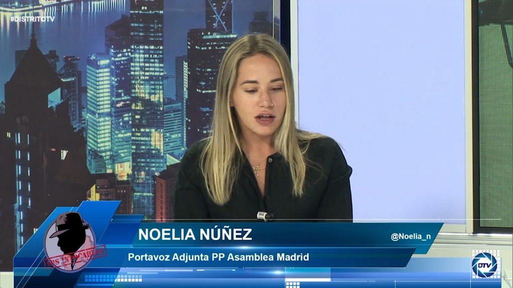 """Noelia Núñez: """"El Gobierno de Sánchez está agotado y esta reforma se le volverá en contra, los inmigrantes no votarán por él"""""""