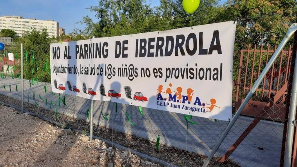 Madrid recupera parcela cedida como parking a Iberdrola en Hortaleza para transformarla en zona verde