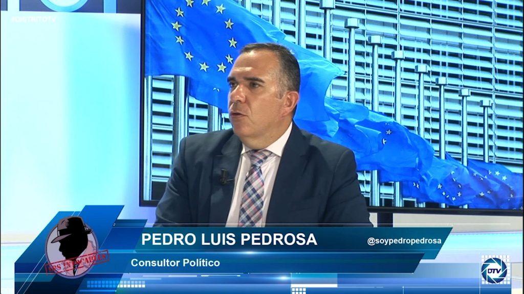 """Pedro Luis Pedrosa: """"El control del Legislativo sobre el Ejecutivo no existe, en España es nulo"""""""