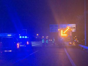 Fallece un joven de 19 años en un accidente de tráfico en la autovía M-21 de Madrid