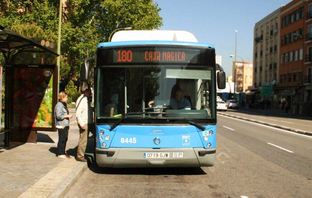 Viajar en autobuses de EMT será gratis durante las dos primeras semanas de septiembre en hora punta