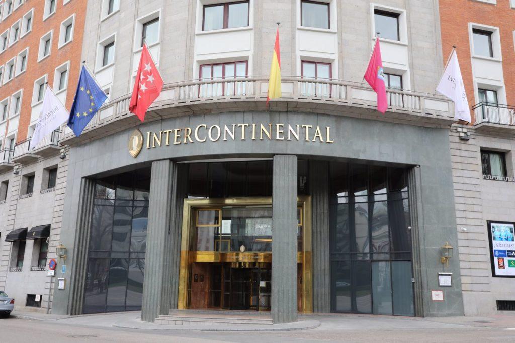 El Hotel Intercontinental de Madrid reabre sus puertas tras el cierre por la pandemia