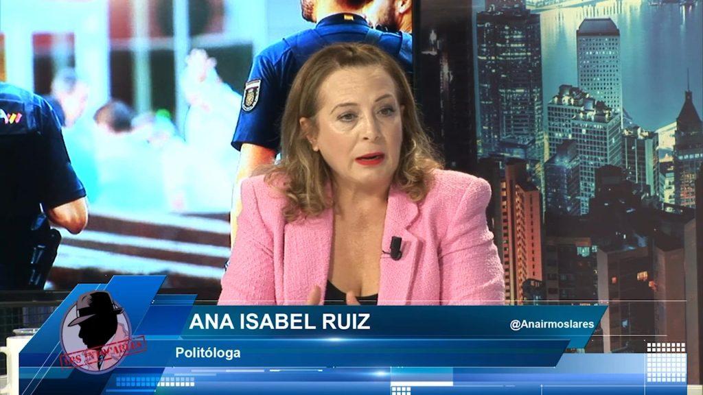 """Ana Isabel Ruíz: """"El PP se aprovecha del debate del reconocimiento policial para hundir al PSOE"""""""