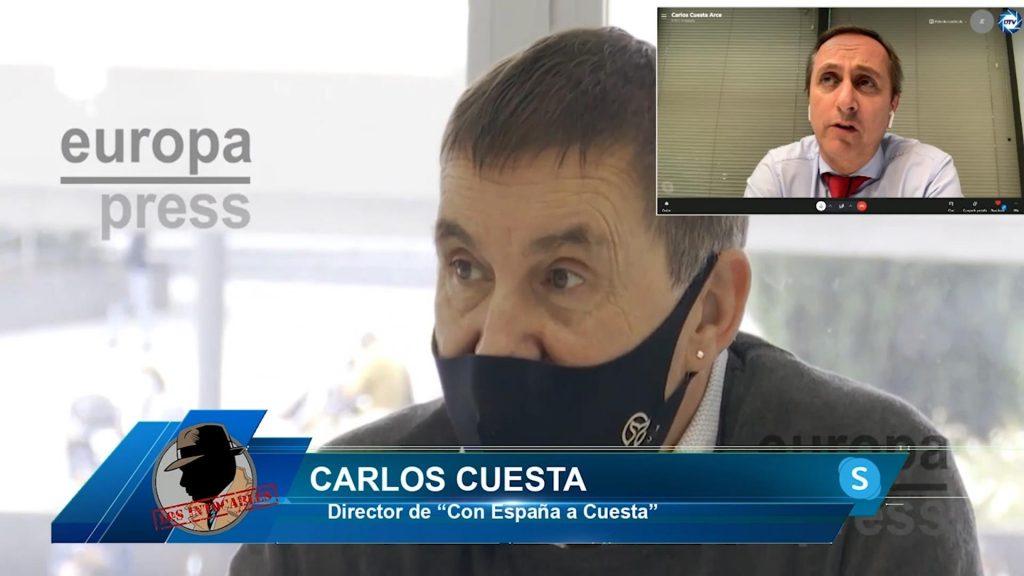"""Carlos Cuesta: """"En España mandan una coalición de partidos y el PSOE es la cara de todos ellos"""""""